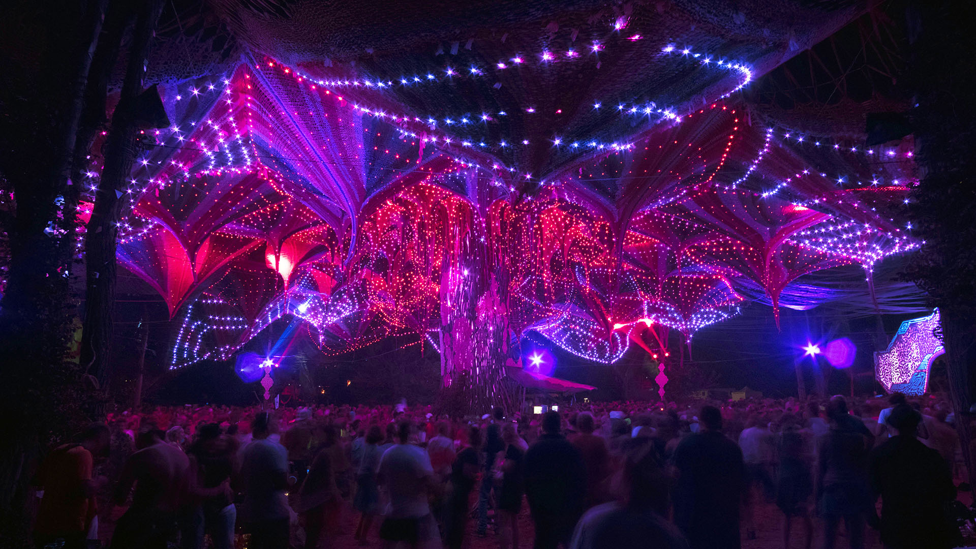 The Limelight of a Psychedelic Tribal Gathering